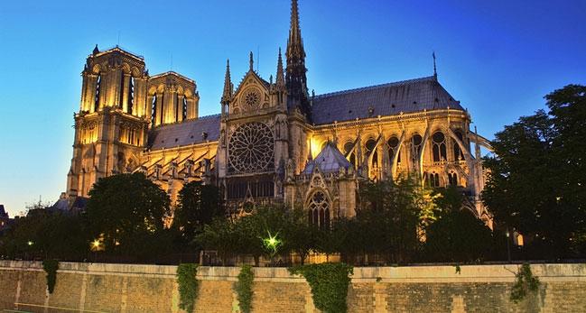 วิหารโนเตรอดาม Notre Dame เขียนโดย Journey